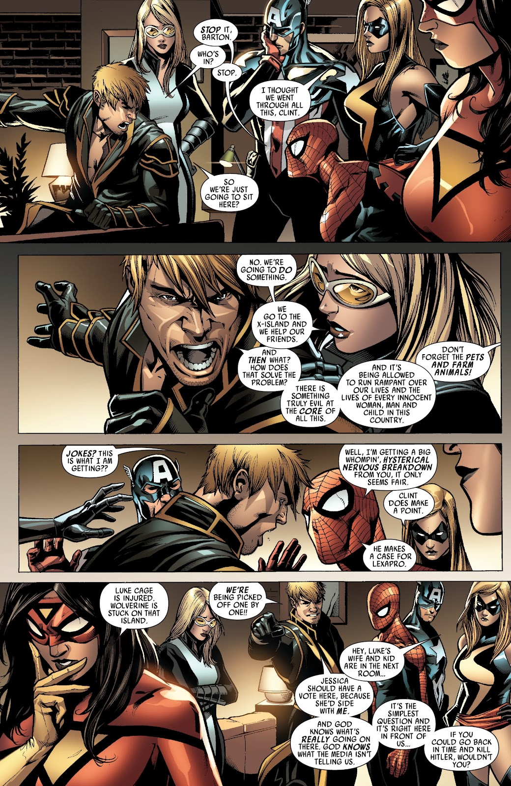 Read online Siege Prelude comic -  Issue # TPB (Part 2) - 18