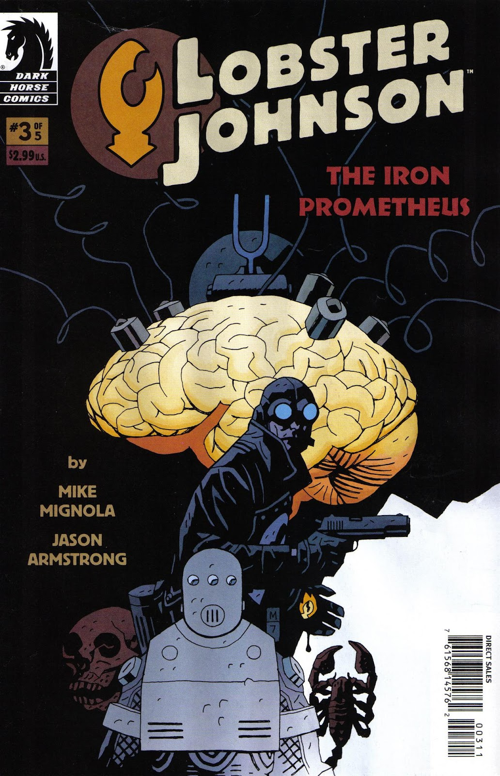 Lobster Johnson: The Iron Prometheus issue 3 - Page 1