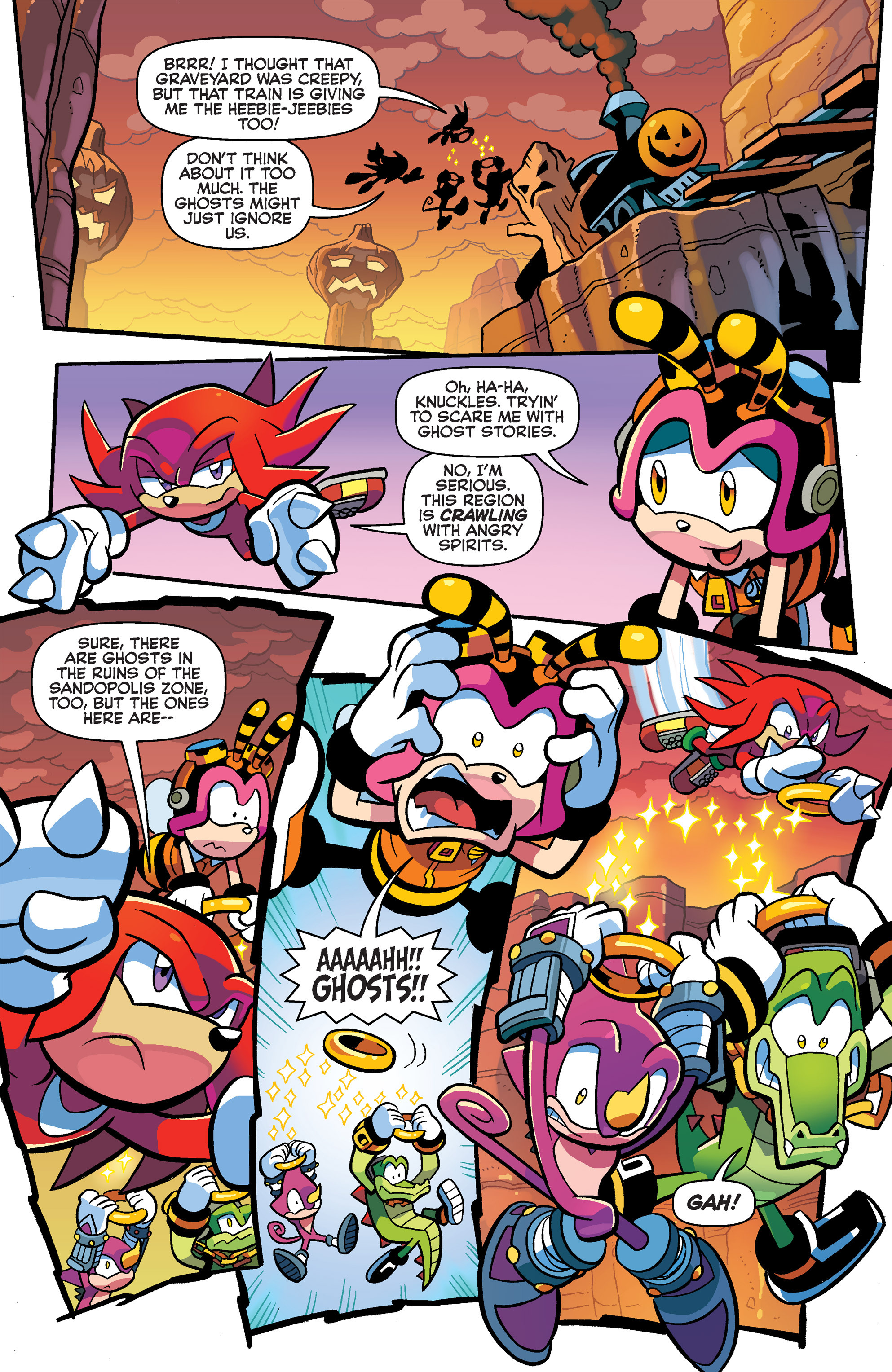 Read online Sonic Universe comic -  Issue #63 - 15