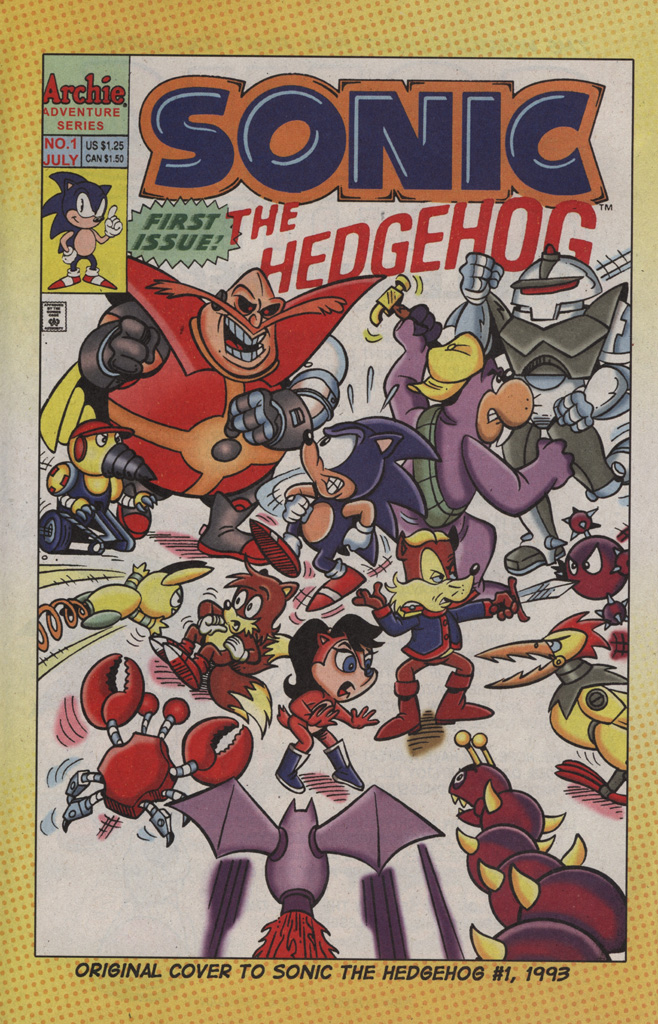 Read online Sonic the Hedgehog Free Comic Book Day Edition comic -  Issue # Special 2 - 4