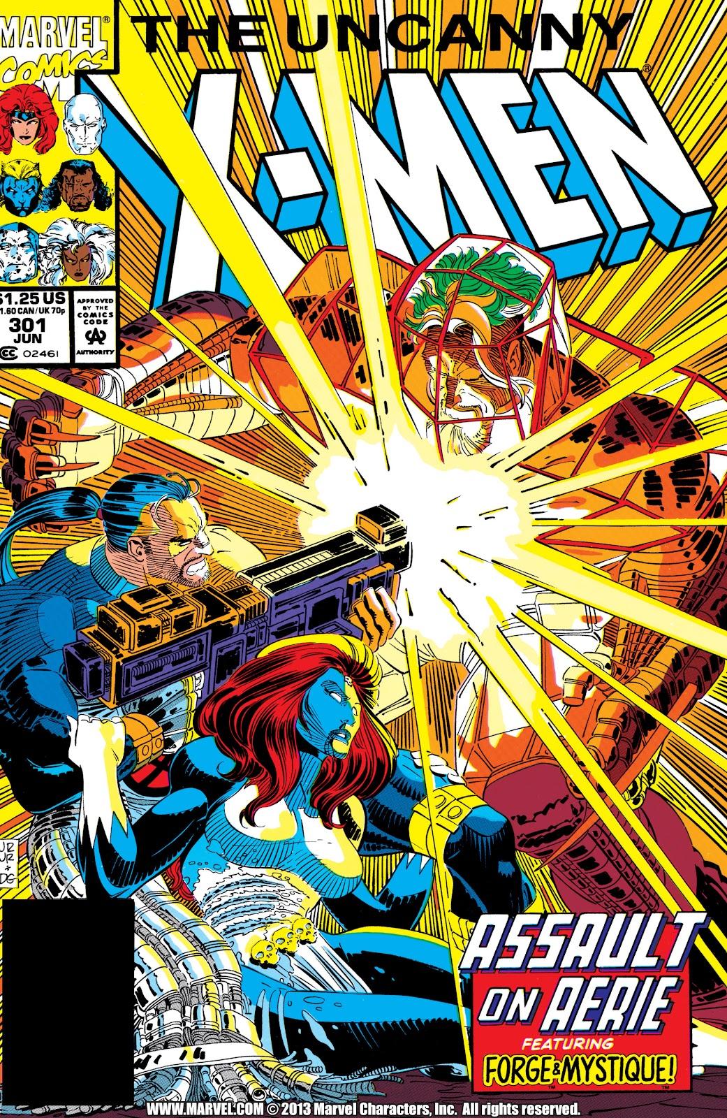 Uncanny X-Men (1963) 301 Page 1
