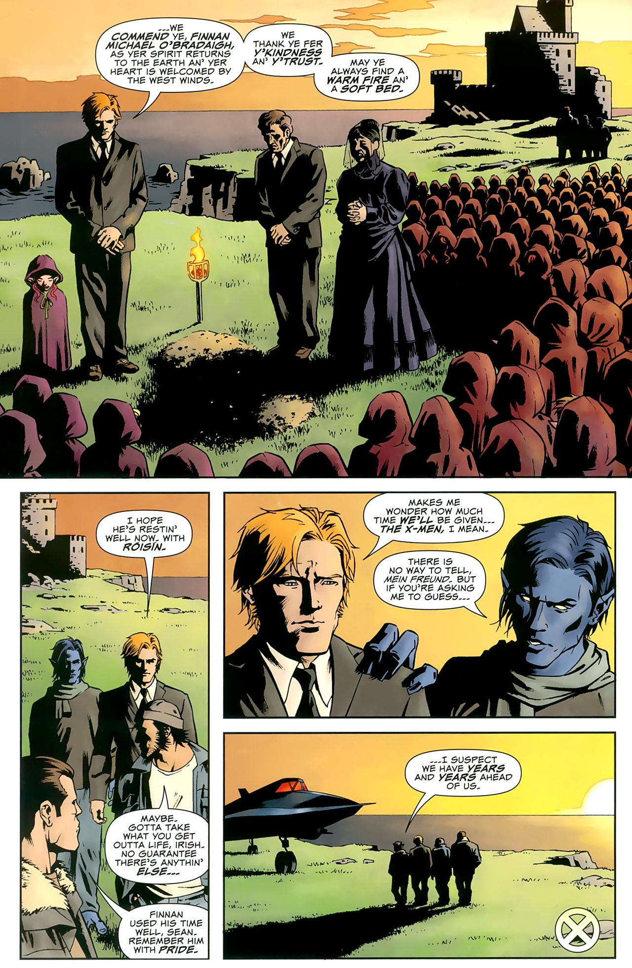 Read online Uncanny X-Men: First Class comic -  Issue #8 - 22