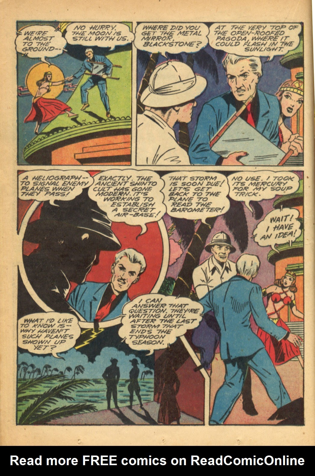 Read online Super-Magician Comics comic -  Issue #6 - 30