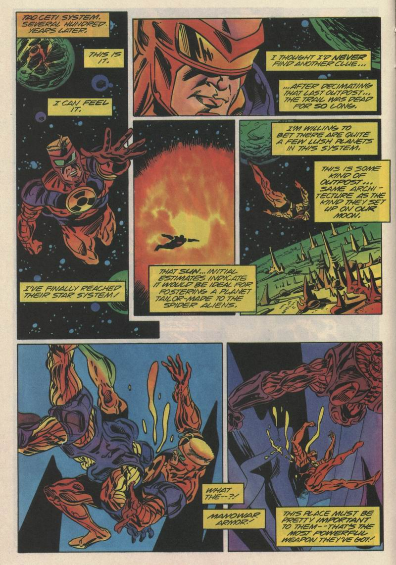 Read online Solar, Man of the Atom comic -  Issue #35 - 8