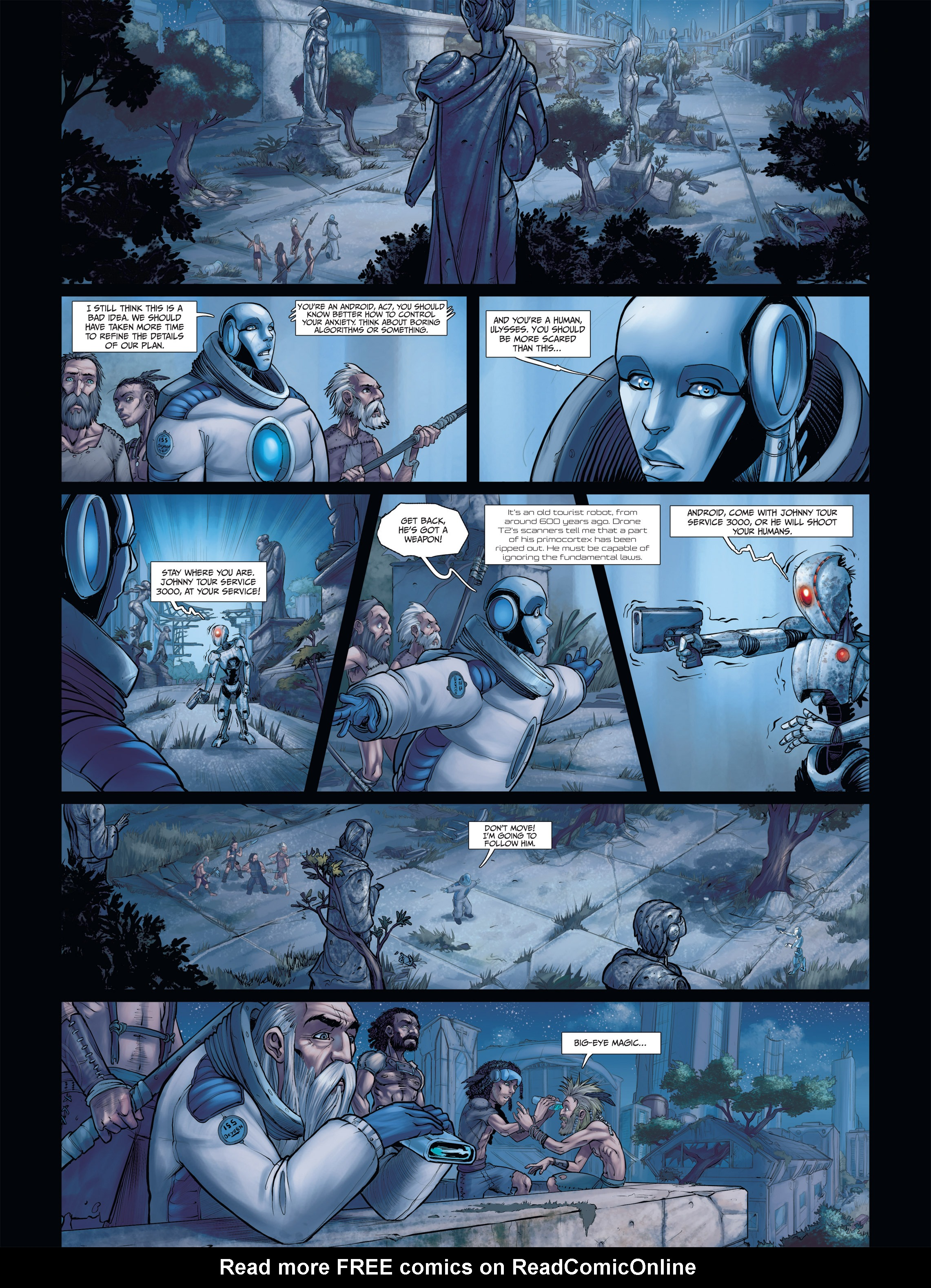 Read online Androïds comic -  Issue #2 - 40