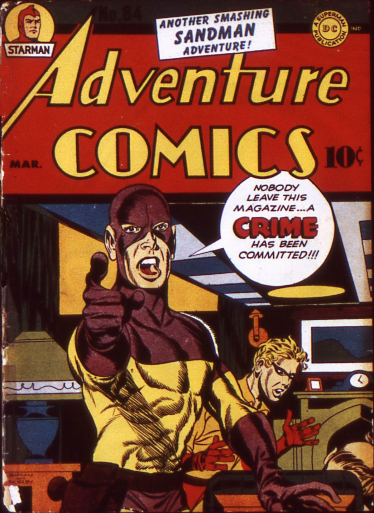 Read online Adventure Comics (1938) comic -  Issue #84 - 1
