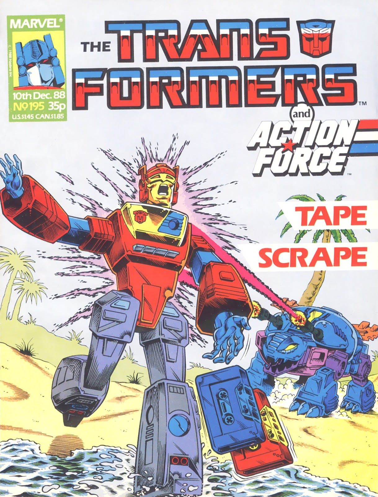 The Transformers (UK) 195 Page 1