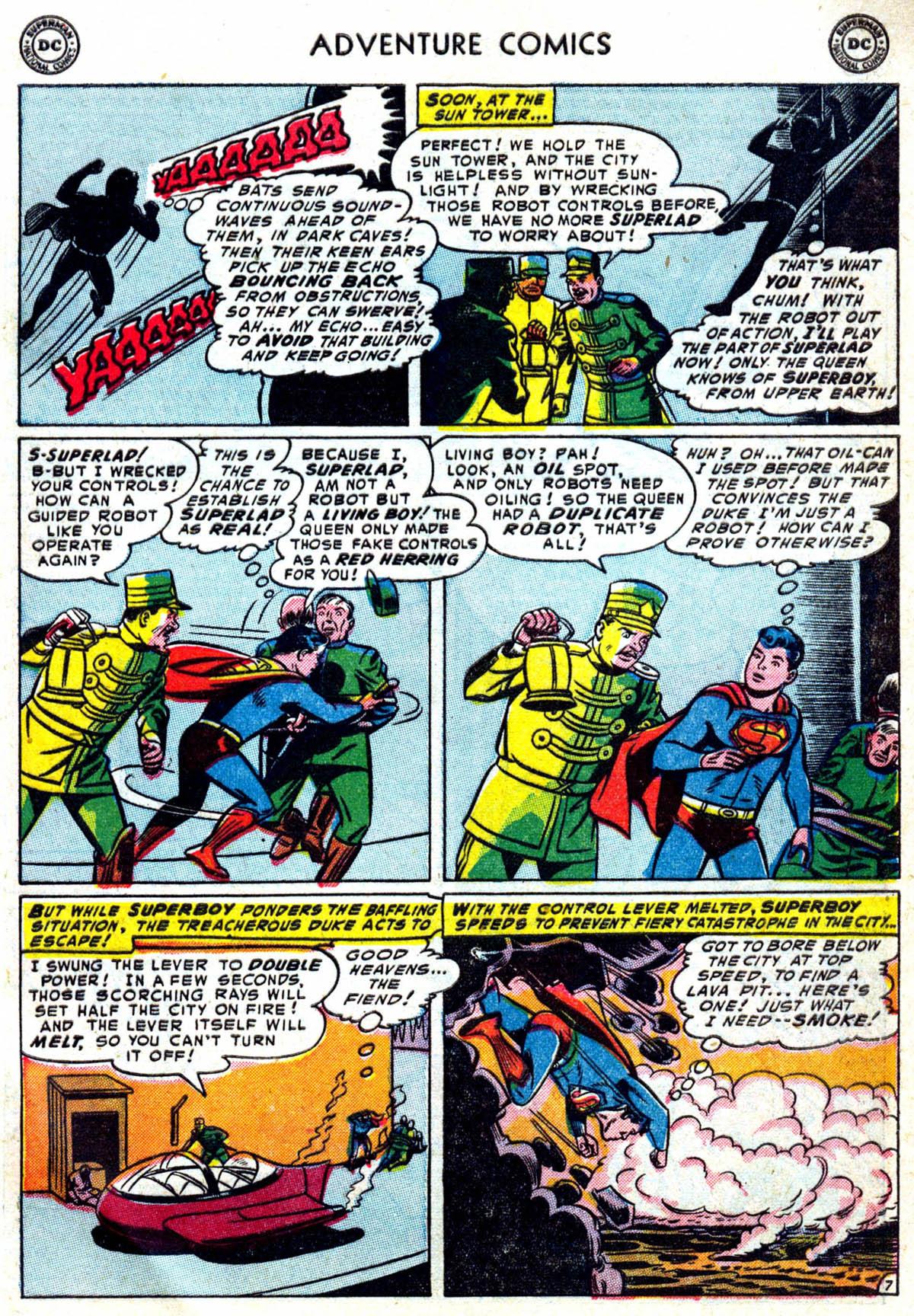 Read online Adventure Comics (1938) comic -  Issue #199 - 8