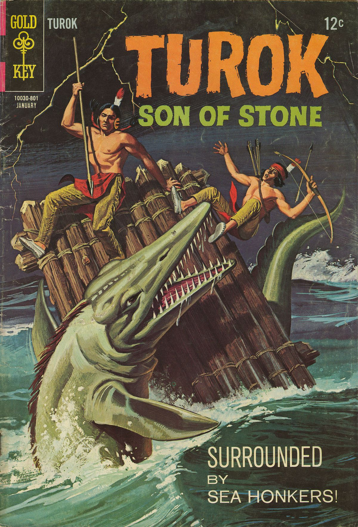 Read online Turok, Son of Stone comic -  Issue #60 - 1
