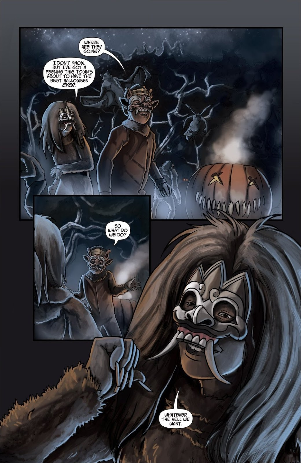 Read online Trick 'r Treat: Days of the Dead comic -  Issue # TPB - 119