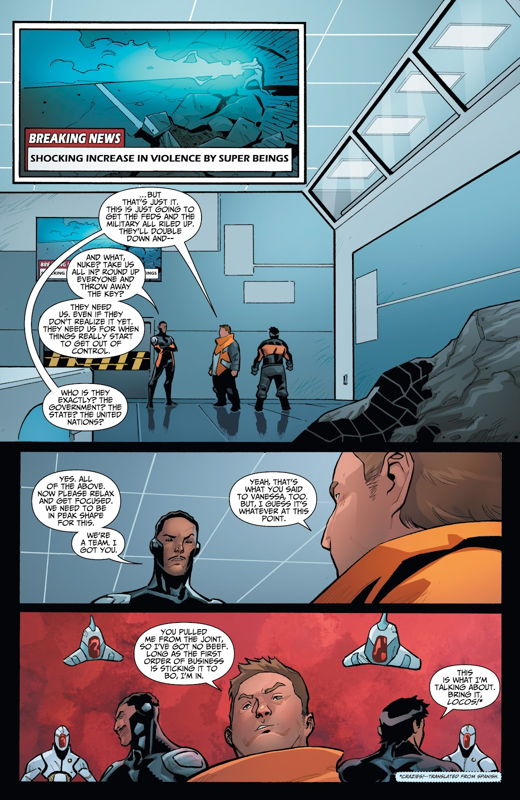 Read online Incidentals comic -  Issue #16 - 13