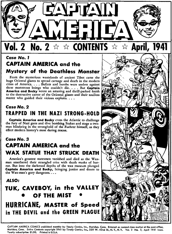 Captain America Comics 2 Page 2