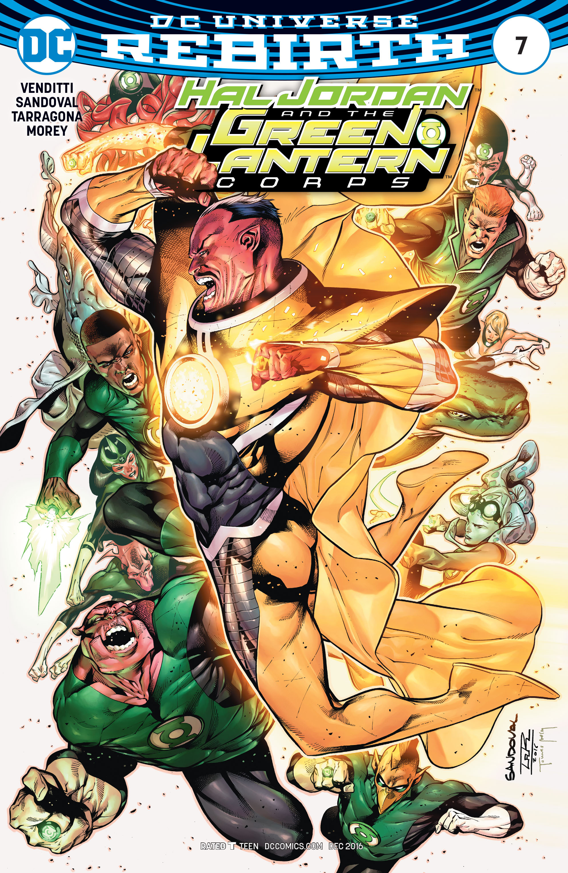 Hal Jordan And The Green Lantern Corps 7 Page 1