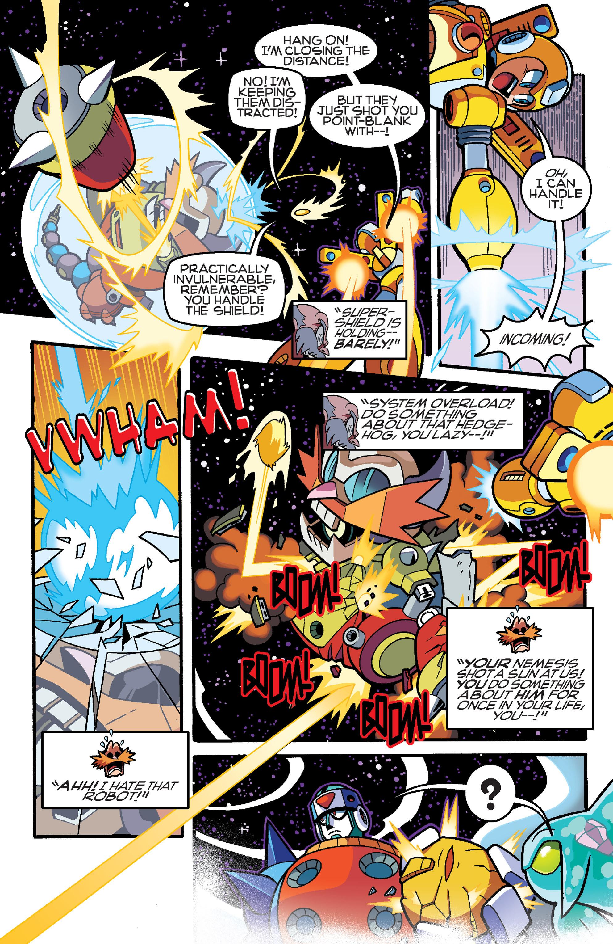 Read online Sonic Mega Man Worlds Collide comic -  Issue # Vol 3 - 110