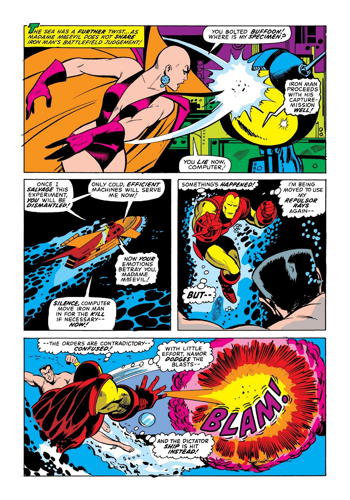 Read online Marvel Masterworks: The Invincible Iron Man comic -  Issue # TPB 9 (Part 1) - 25