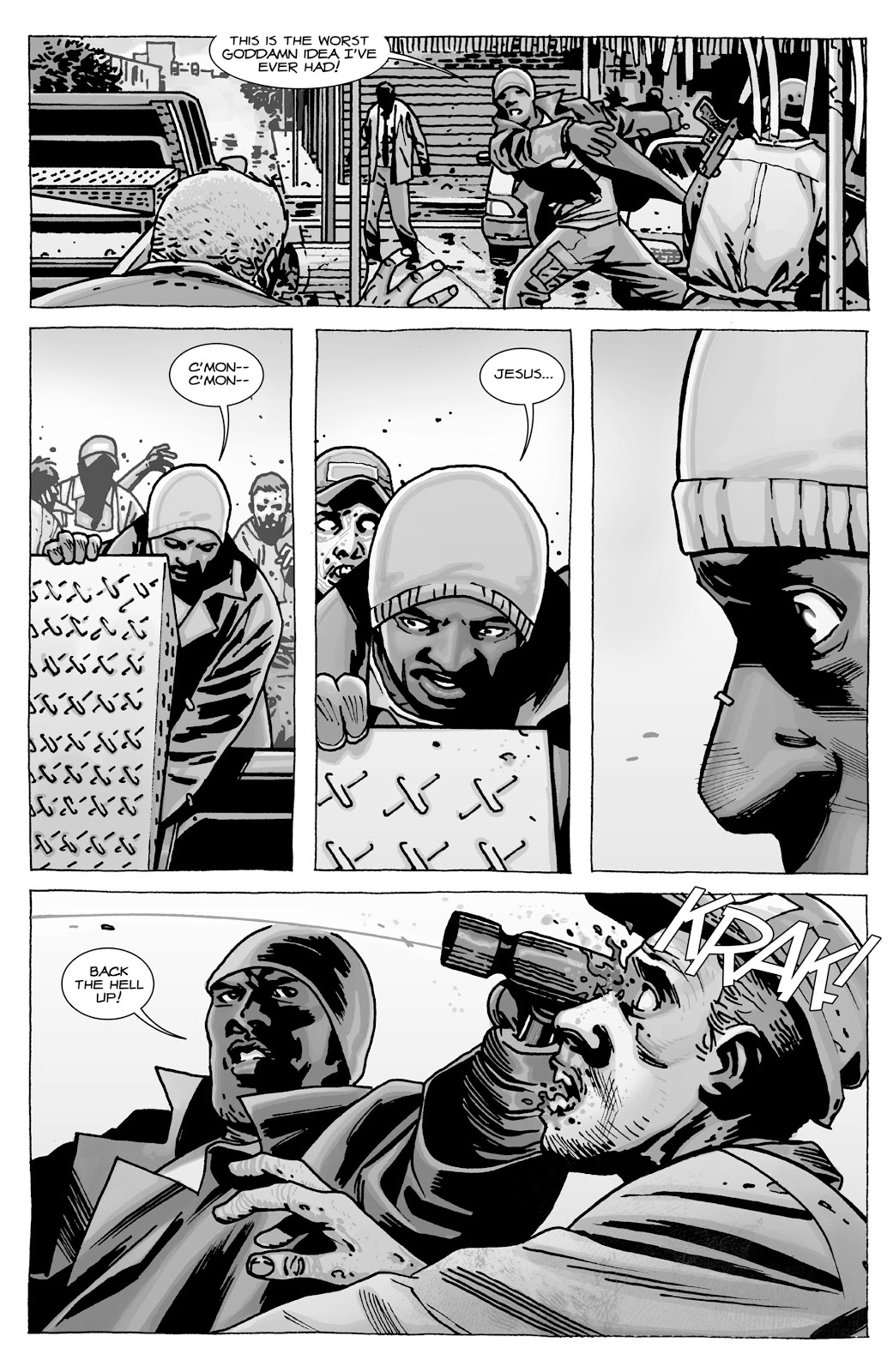 The Walking Dead issue Special - Tyreese Special - Page 4