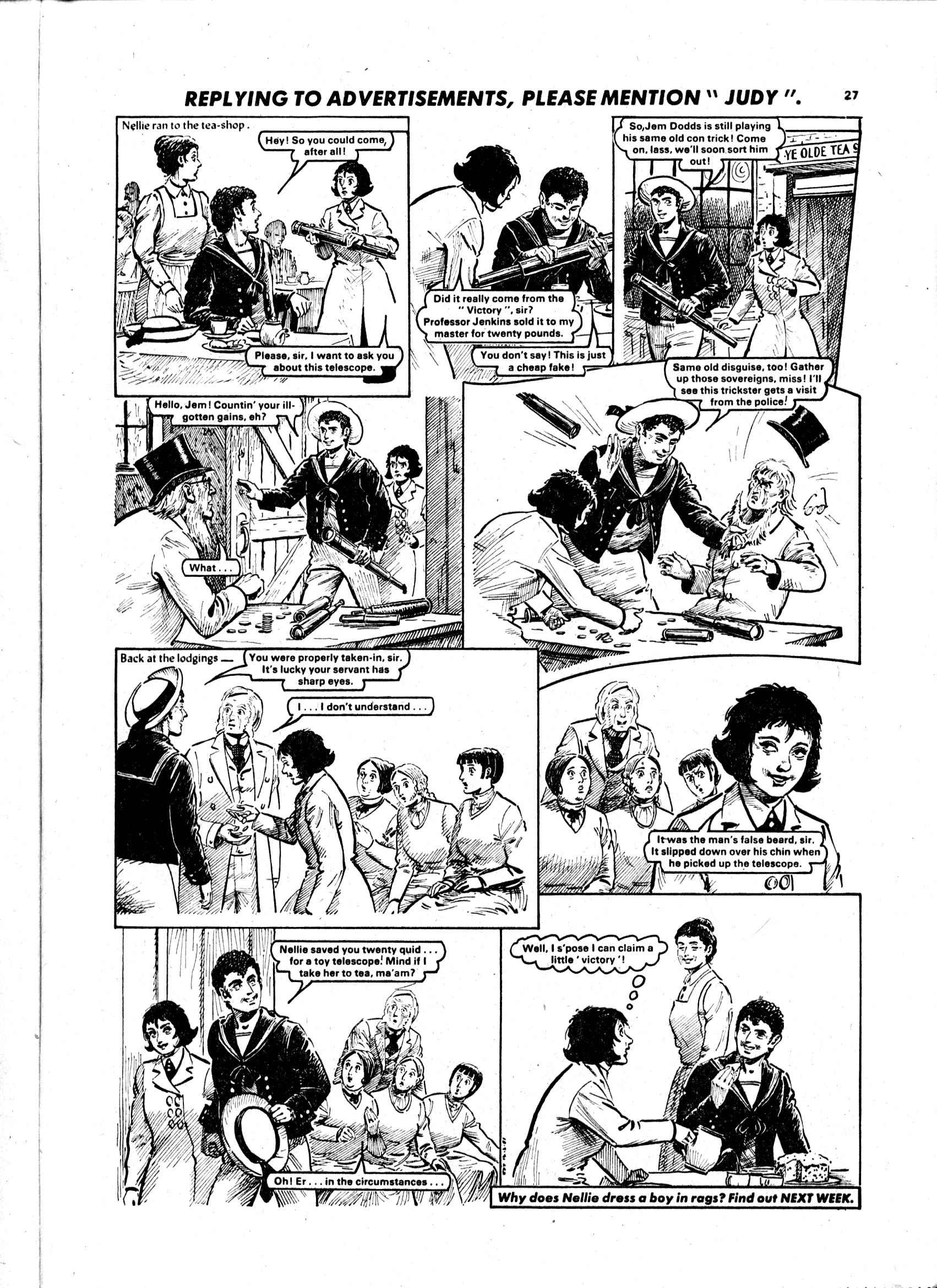 Read online Judy comic -  Issue #1105 - 27