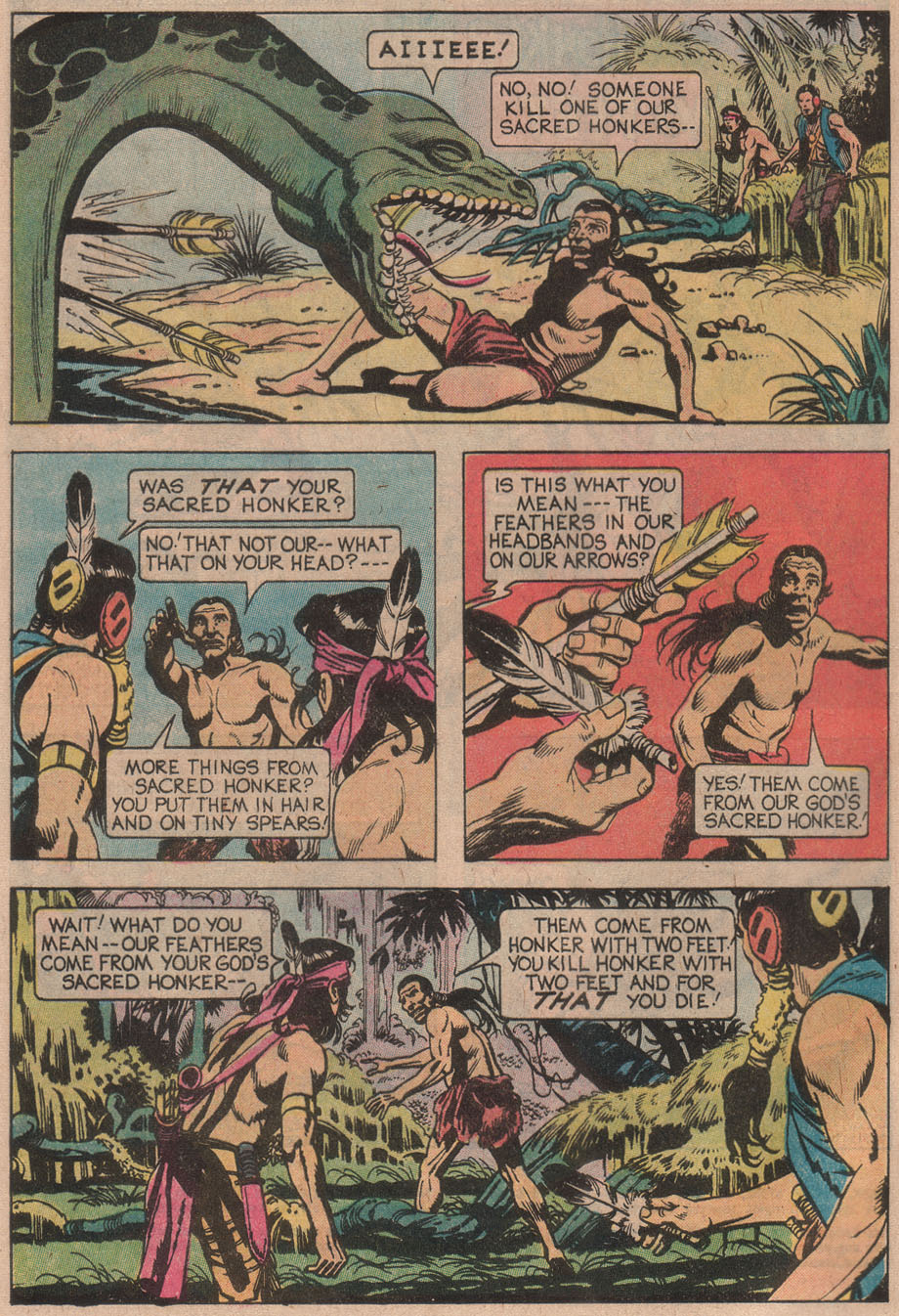 Read online Turok, Son of Stone comic -  Issue #110 - 4