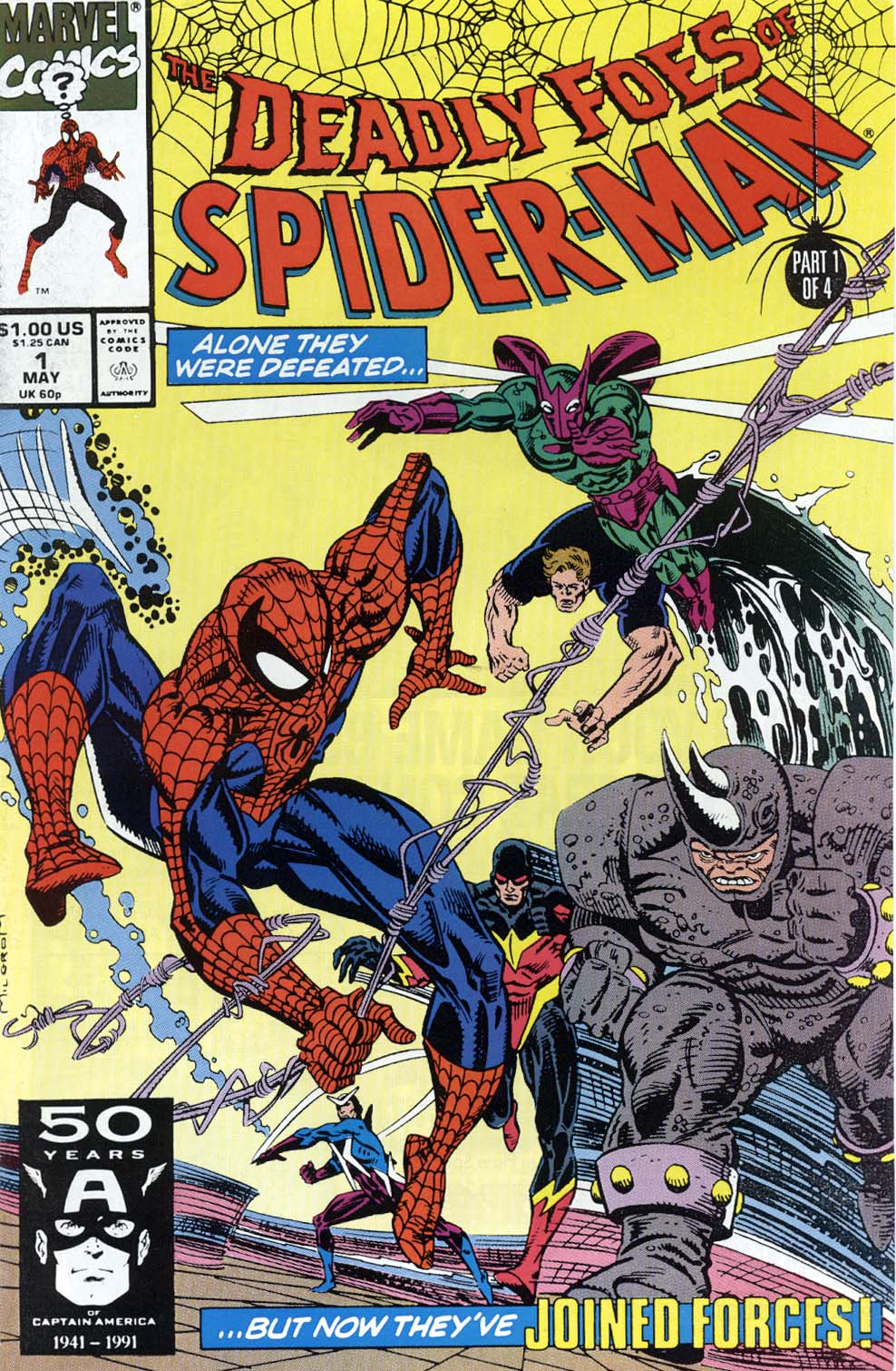 Deadly Foes of Spider-Man 1 Page 1