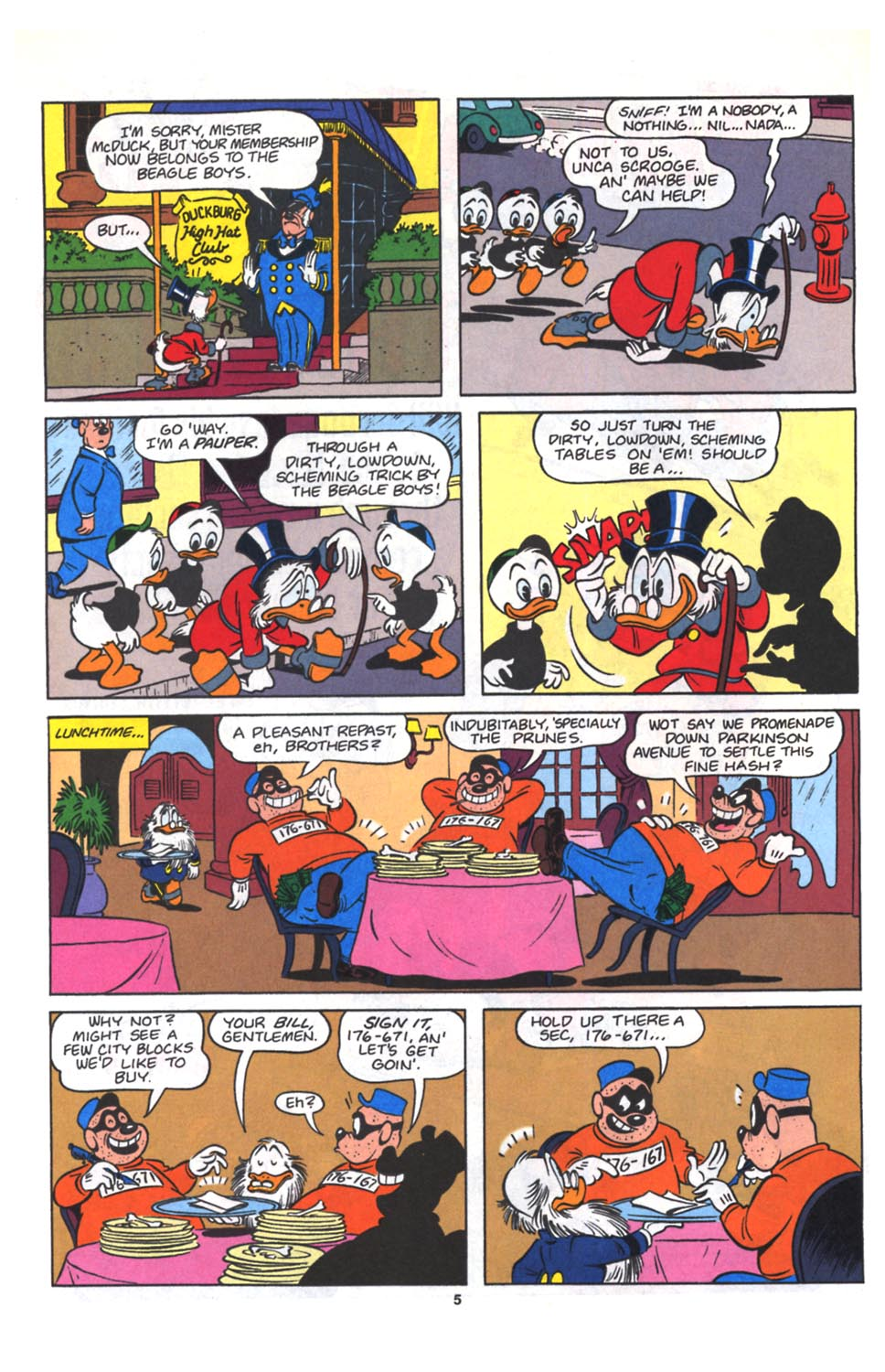 Read online Uncle Scrooge (1953) comic -  Issue #264 - 6