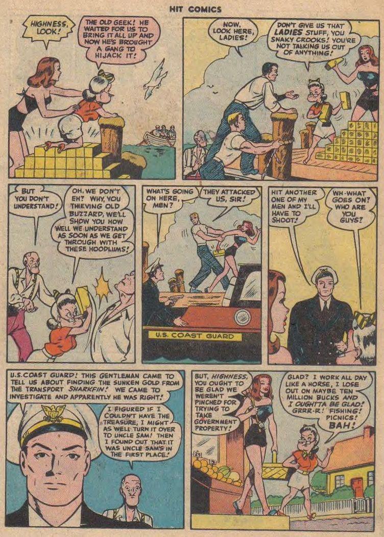 Read online Hit Comics comic -  Issue #45 - 35
