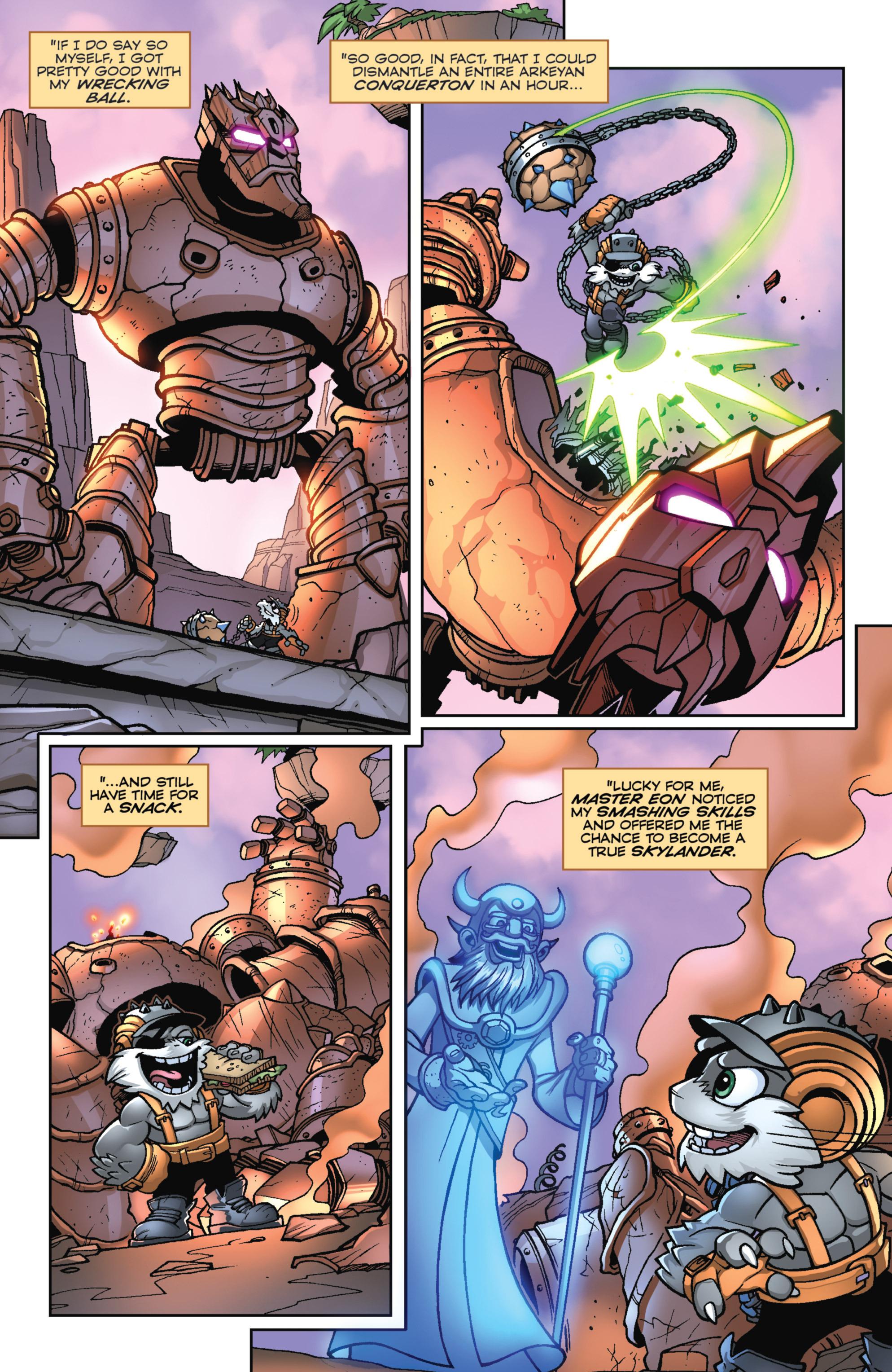 Read online Skylanders Superchargers comic -  Issue #2 - 21