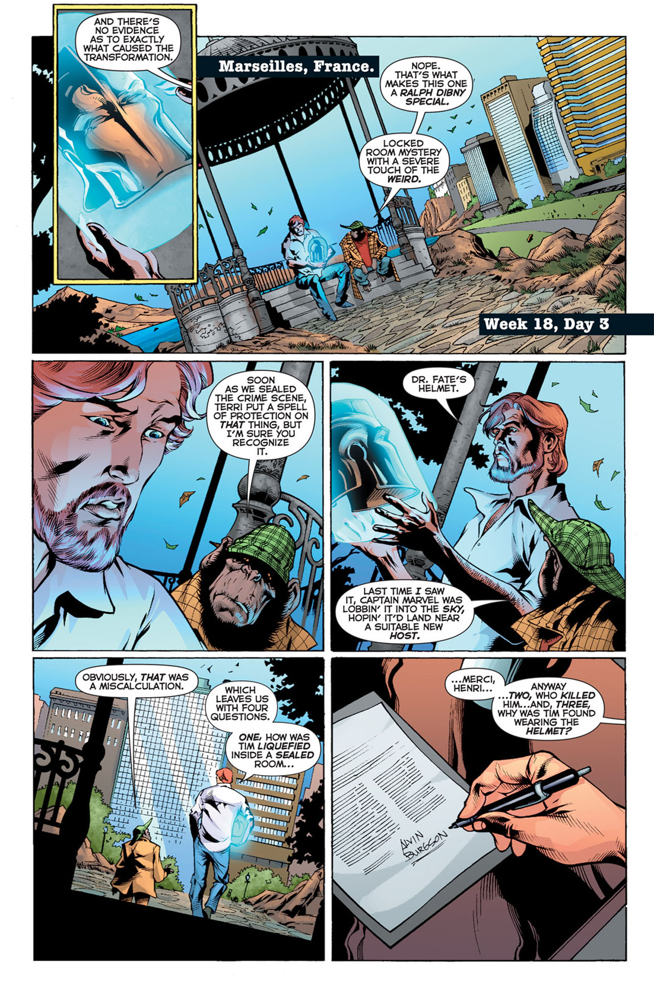Read online 52 comic -  Issue #18 - 11