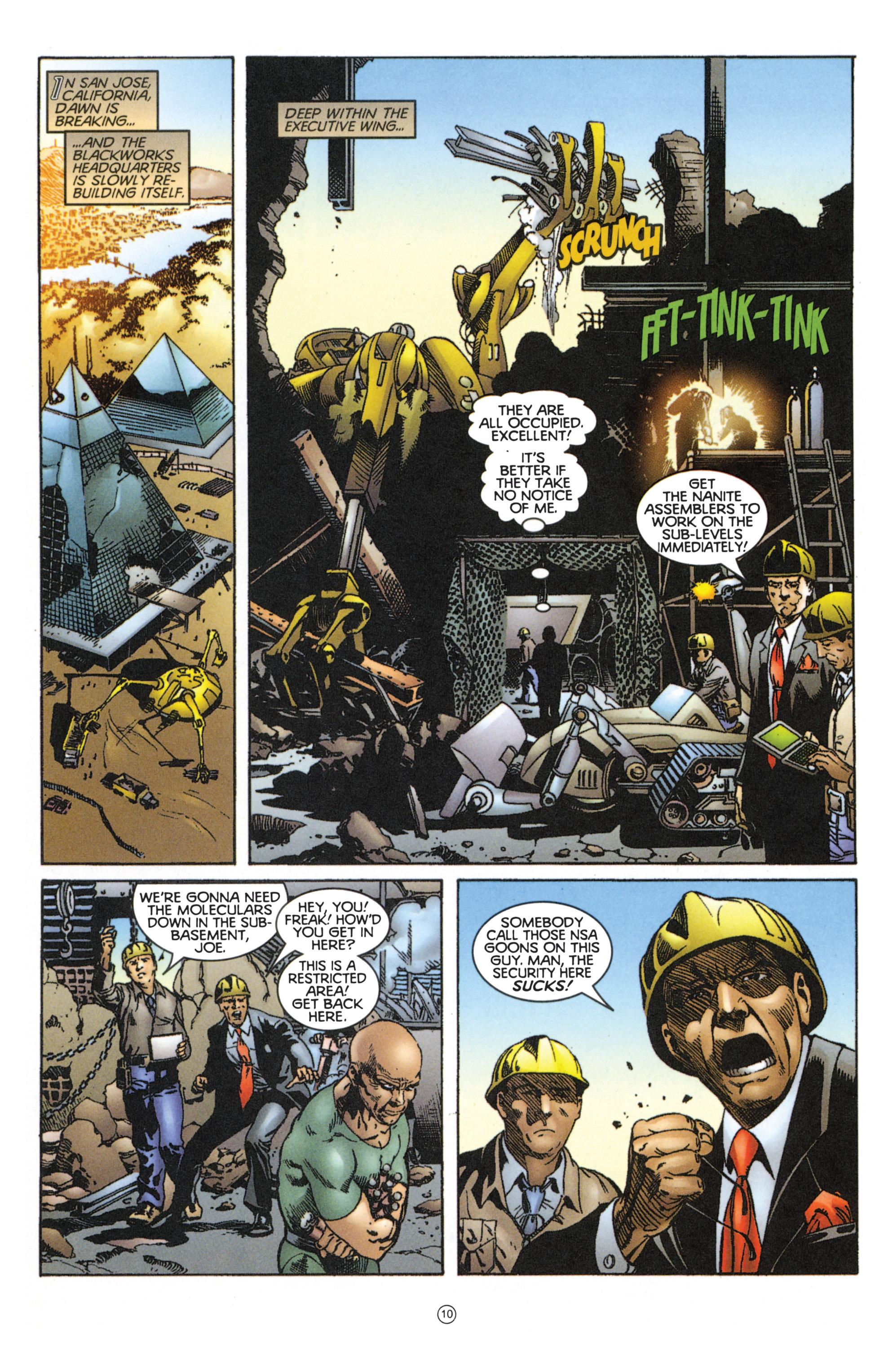 Read online Eternal Warriors comic -  Issue # Issue Mog - 9