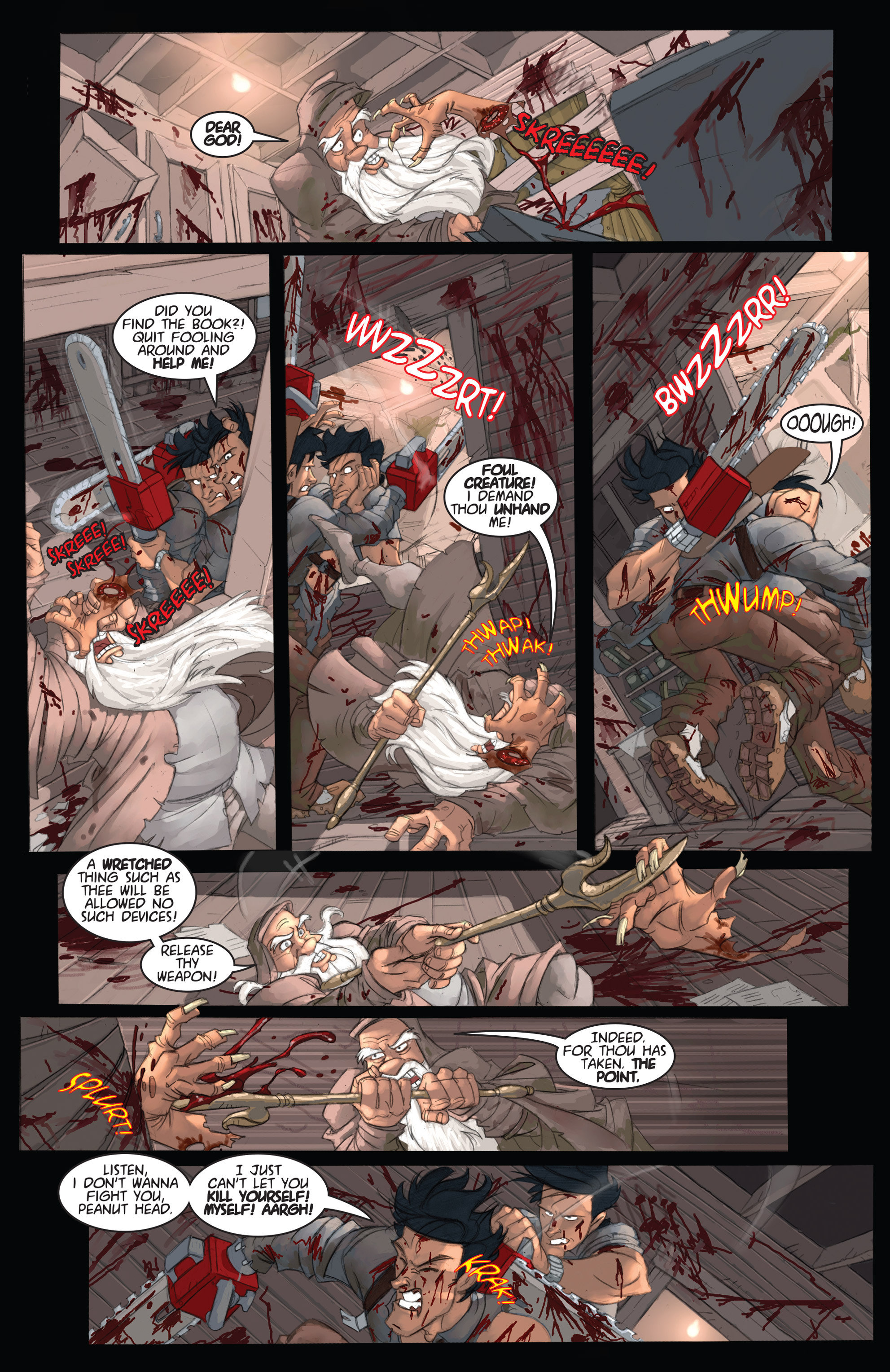 Read online Army of Darkness: Ashes 2 Ashes comic -  Issue #2 - 18