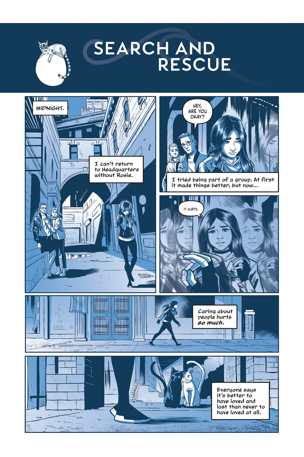 Read online Under the Moon: A Catwoman Tale comic -  Issue # TPB (Part 2) - 70