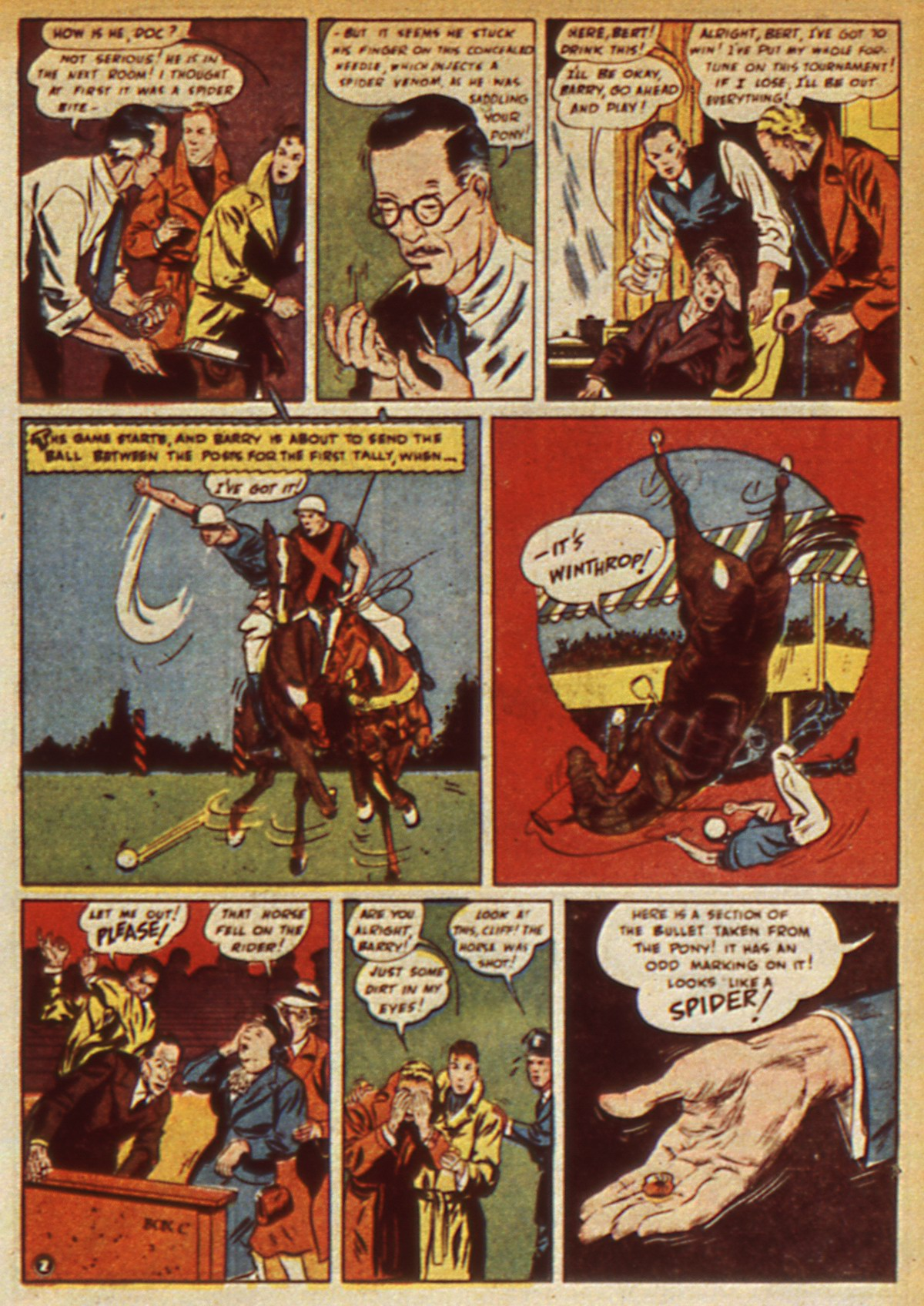 Read online Detective Comics (1937) comic -  Issue #45 - 53
