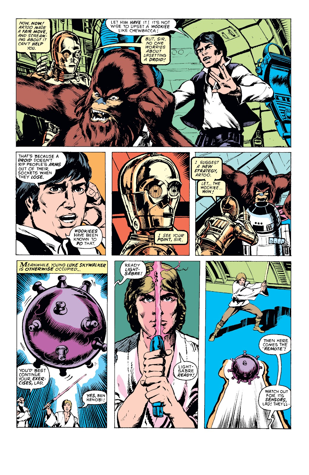 Read online Star Wars Legends: The Original Marvel Years - Epic Collection comic -  Issue # TPB 1 (Part 1) - 47