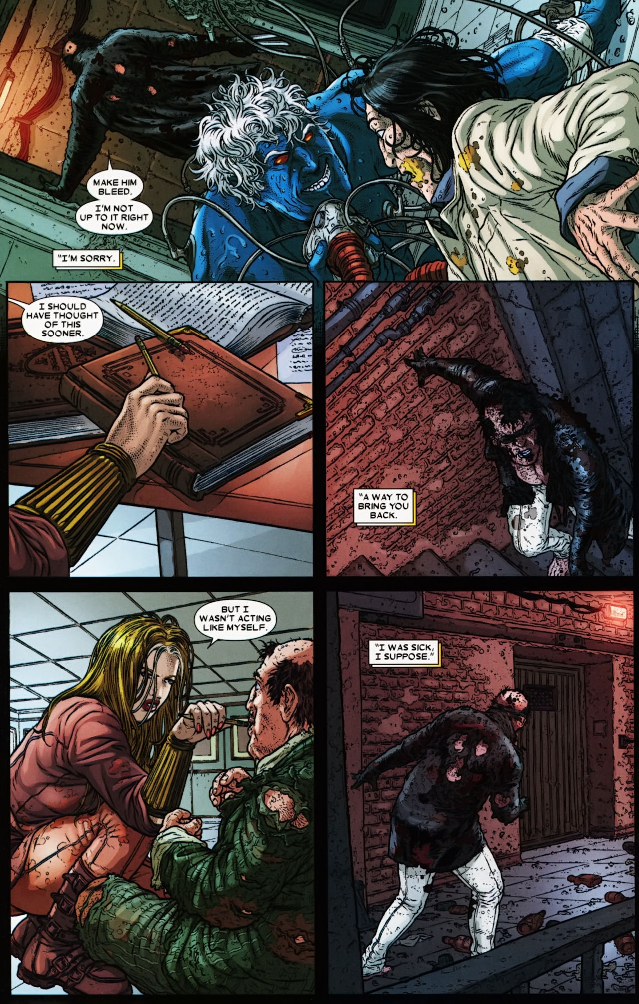 Read online Wolverine: The Best There Is comic -  Issue #6 - 24