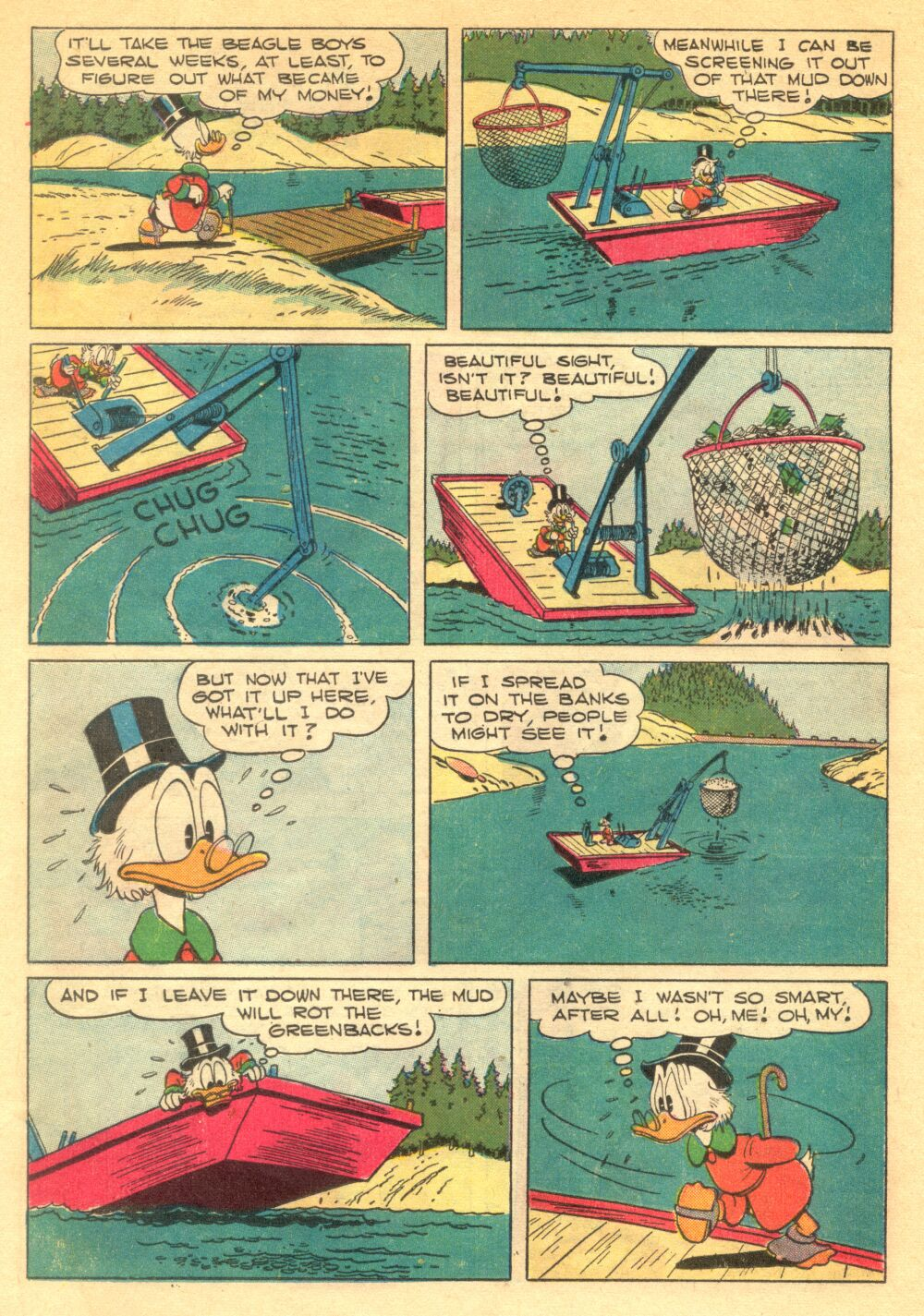 Read online Uncle Scrooge (1953) comic -  Issue #1 - 14