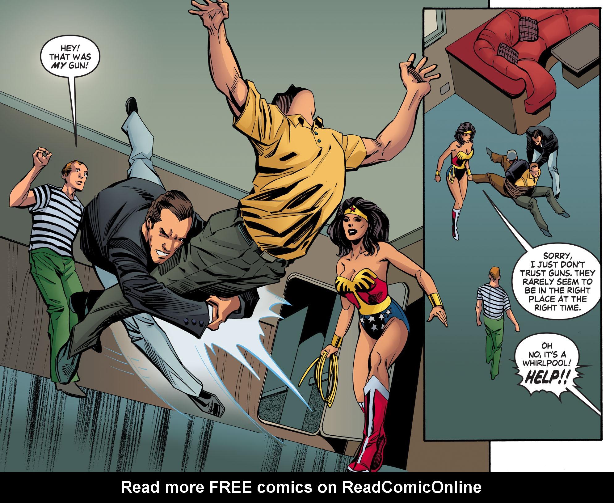 Read online Wonder Woman '77 [I] comic -  Issue #20 - 12