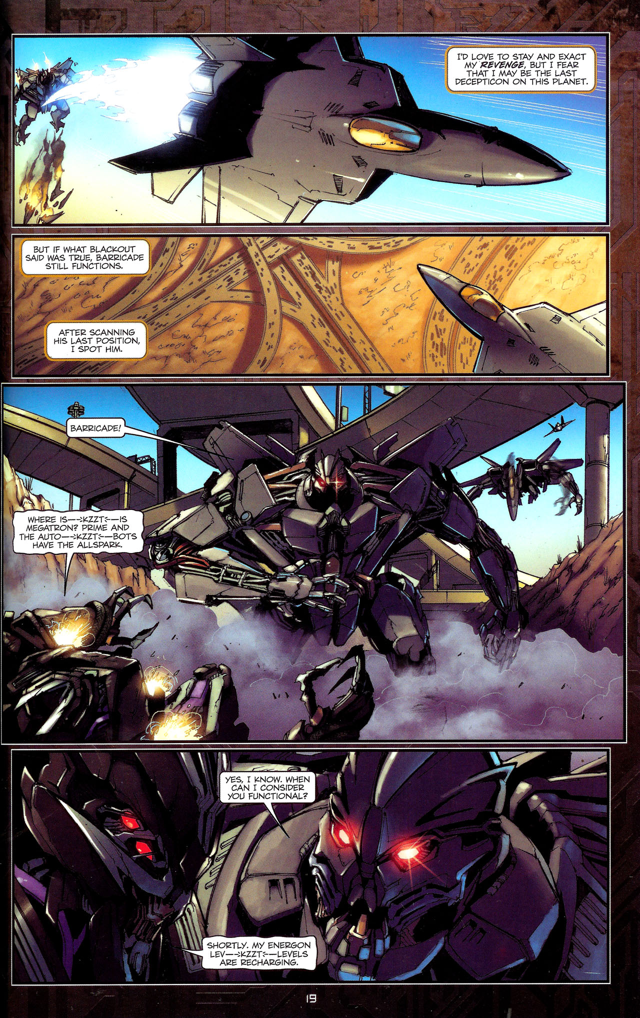 Read online Transformers: The Reign of Starscream comic -  Issue #1 - 22
