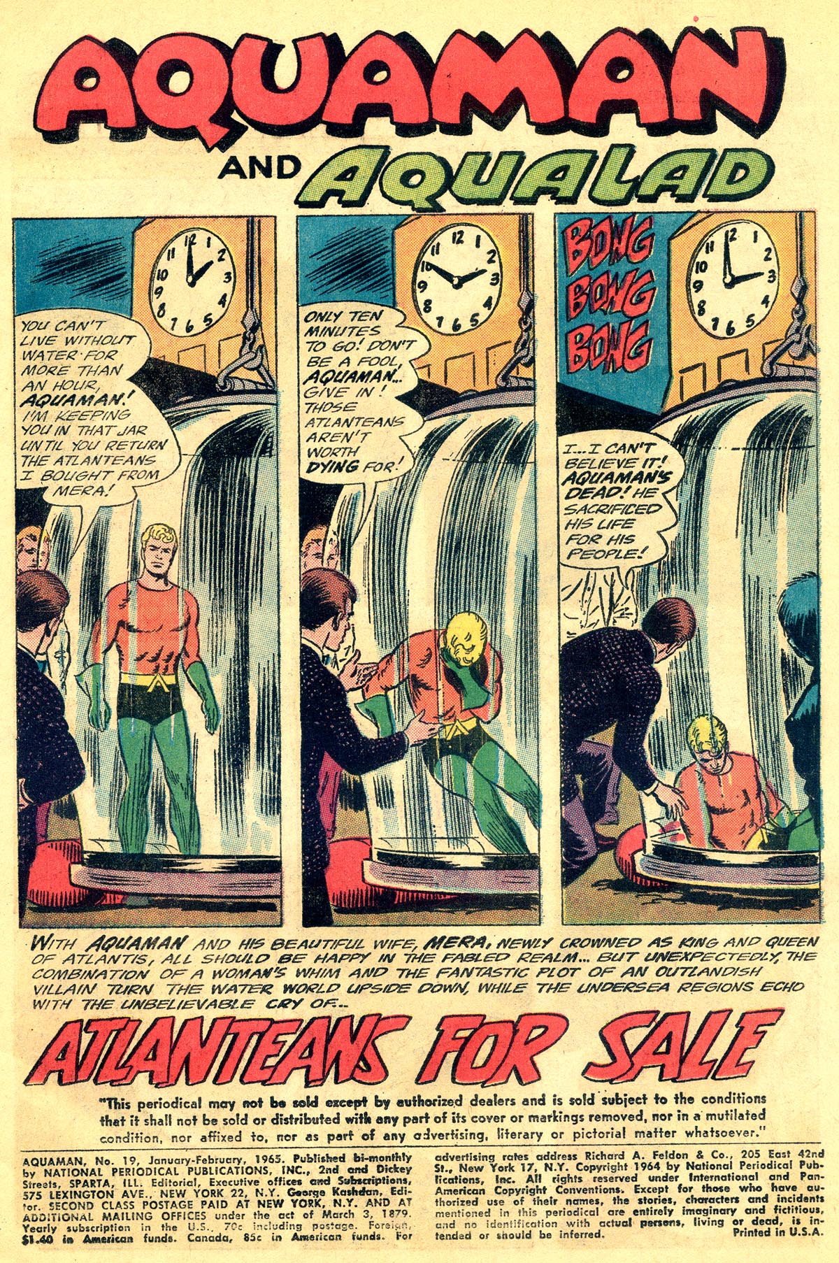 Read online Aquaman (1962) comic -  Issue #19 - 3