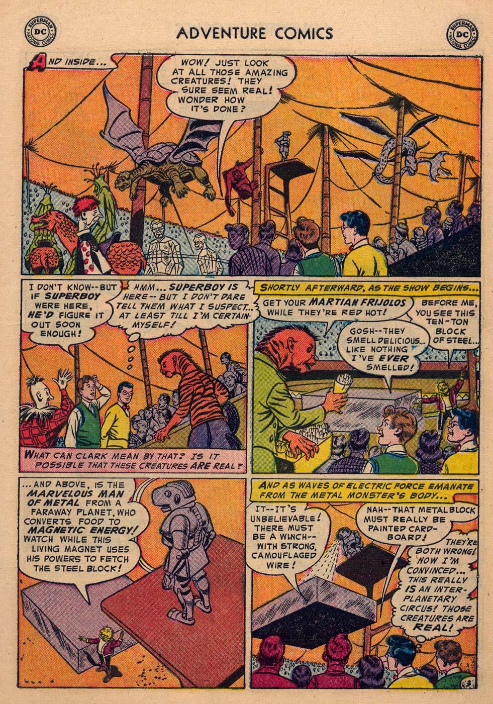 Read online Adventure Comics (1938) comic -  Issue #198 - 5