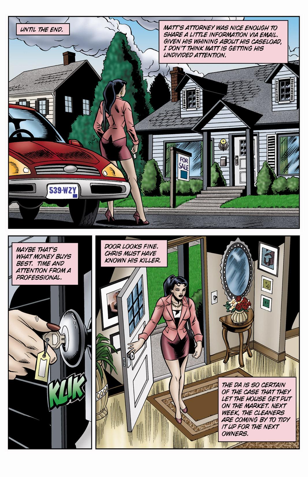 Read online SideChicks comic -  Issue #4 - 17