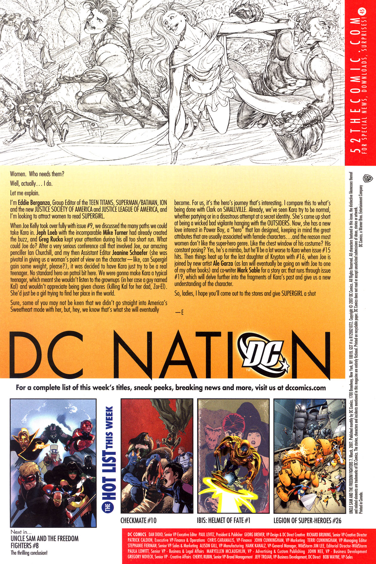 Read online Uncle Sam and the Freedom Fighters (2006) comic -  Issue #7 - 24