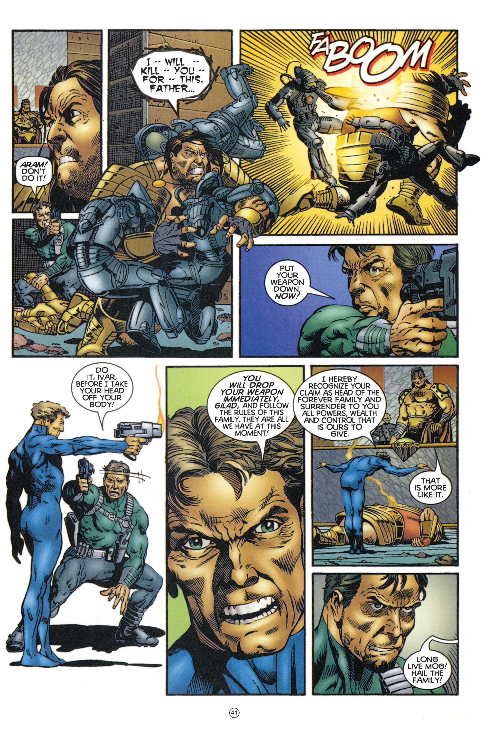 Read online Eternal Warriors comic -  Issue # Issue Mog - 36