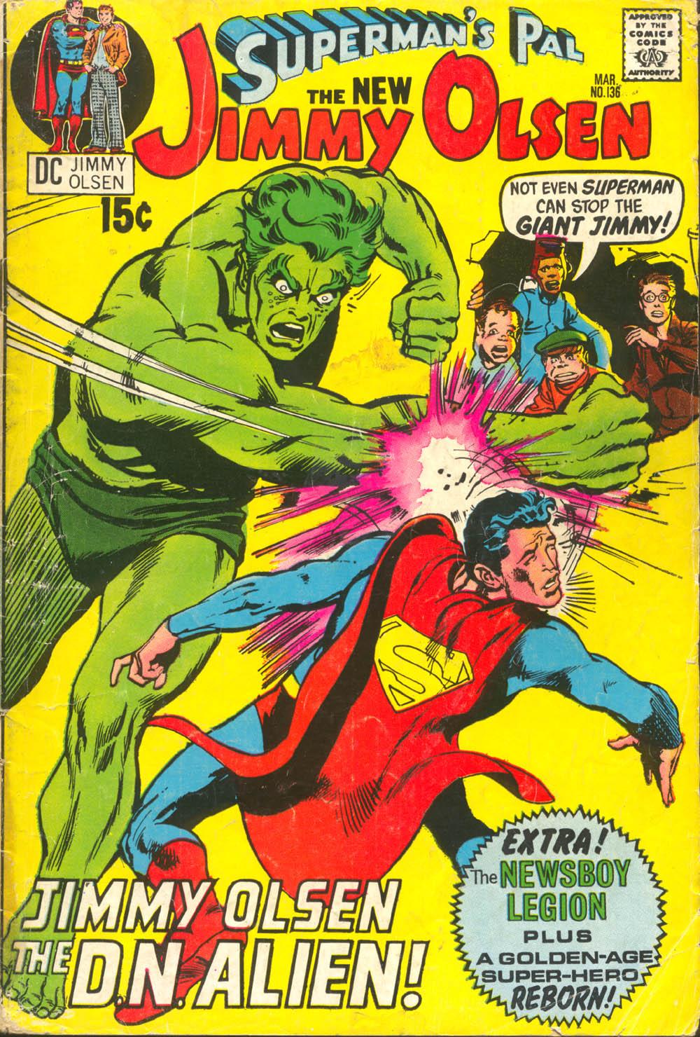 Supermans Pal Jimmy Olsen (1954) 136 Page 1