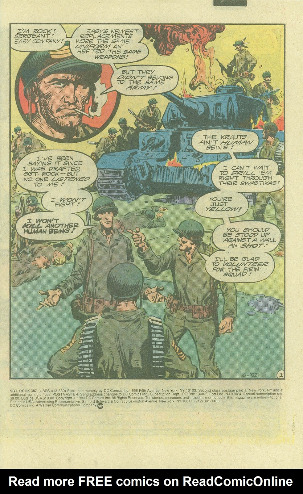 Sgt. Rock issue 387 - Page 3