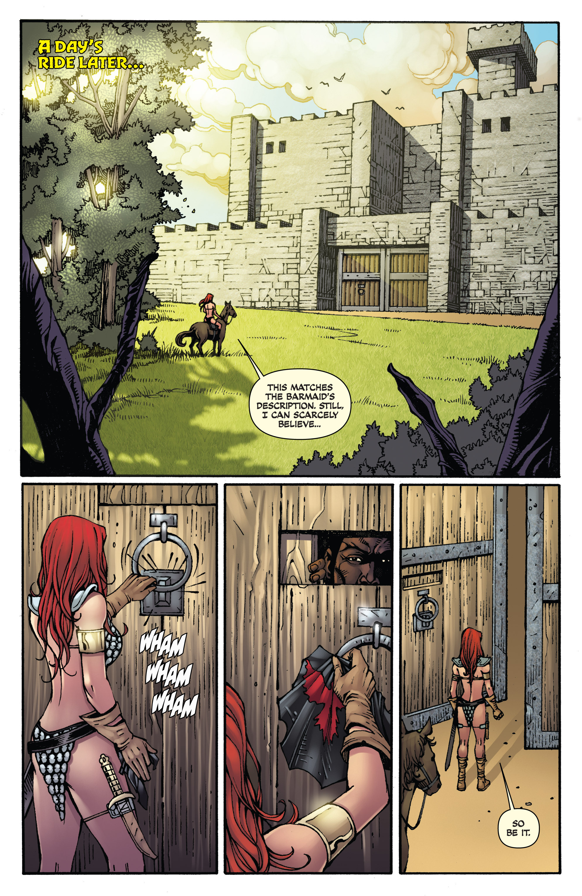 Read online Red Sonja: Sanctuary comic -  Issue # Full - 4