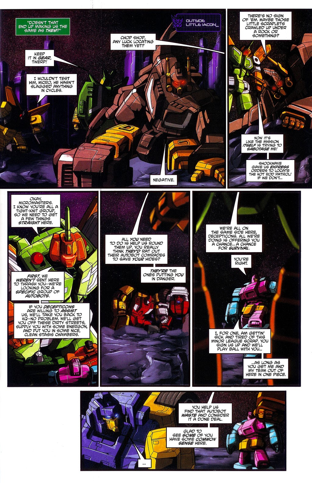 Read online Transformers: Micromasters comic -  Issue #3 - 11