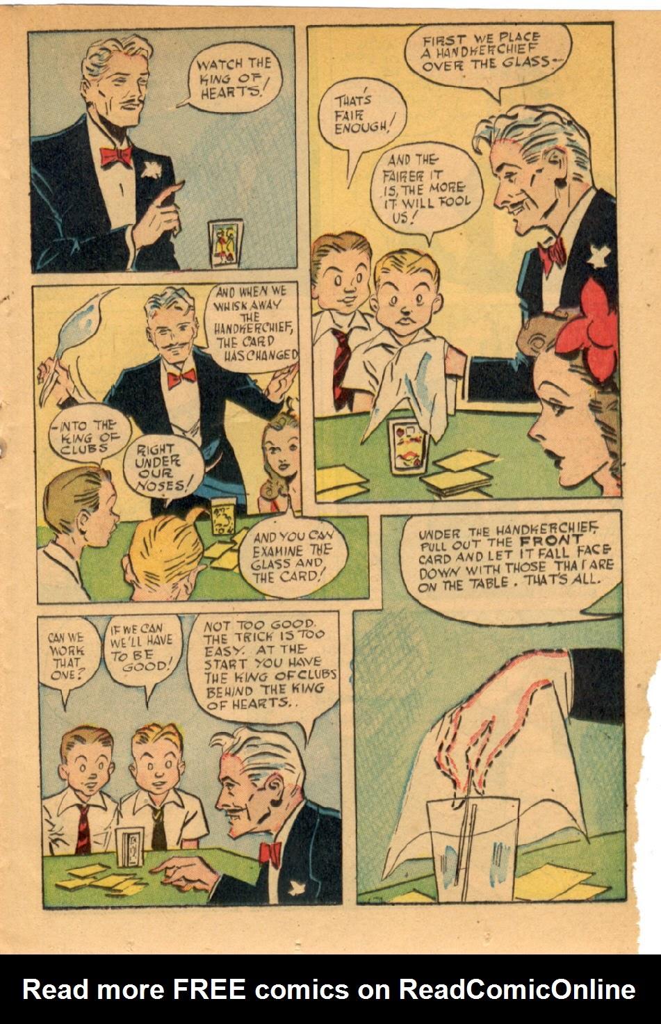 Read online Super-Magician Comics comic -  Issue #43 - 21