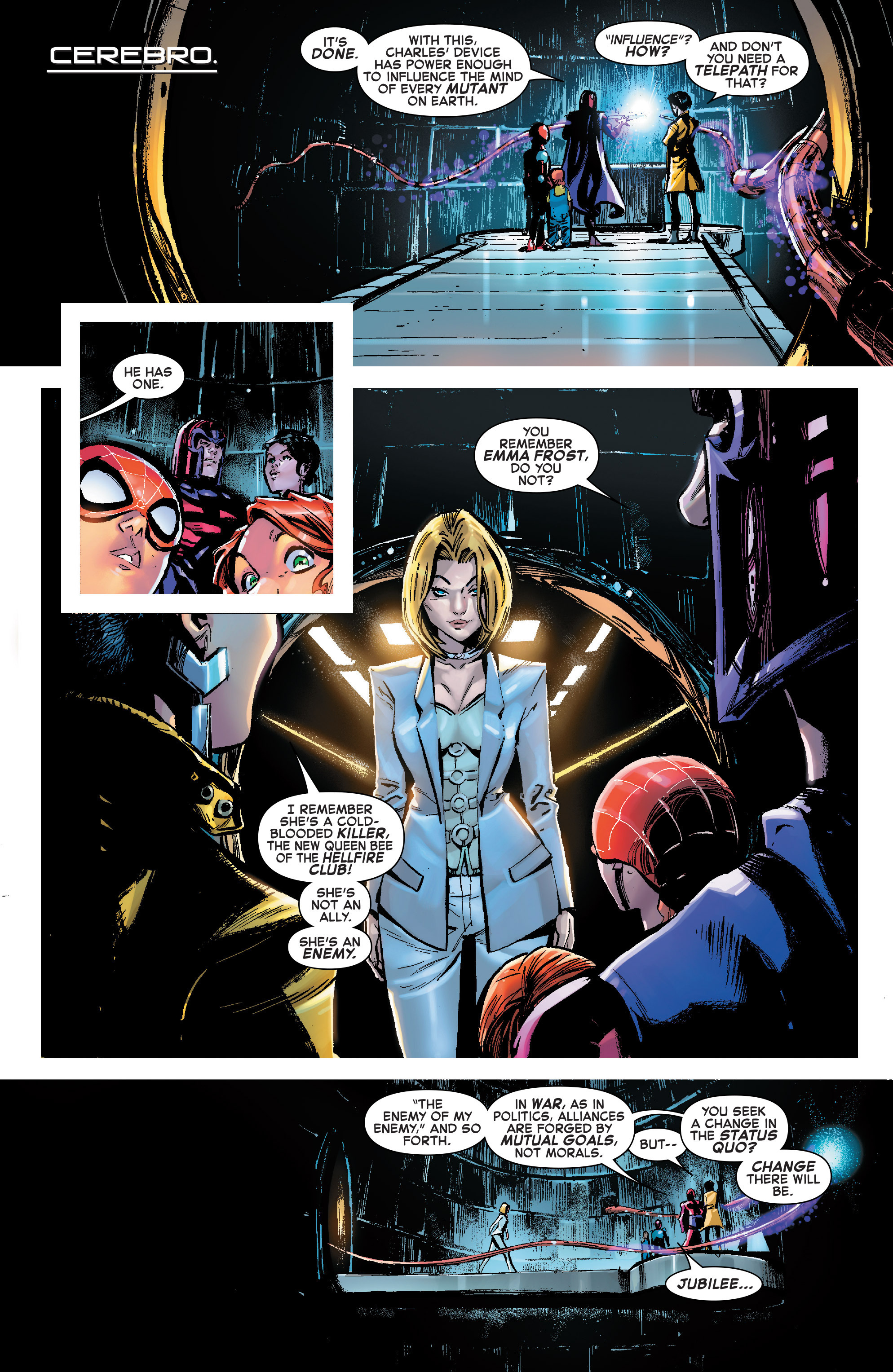 Read online Amazing Spider-Man: Renew Your Vows (2017) comic -  Issue #7 - 8