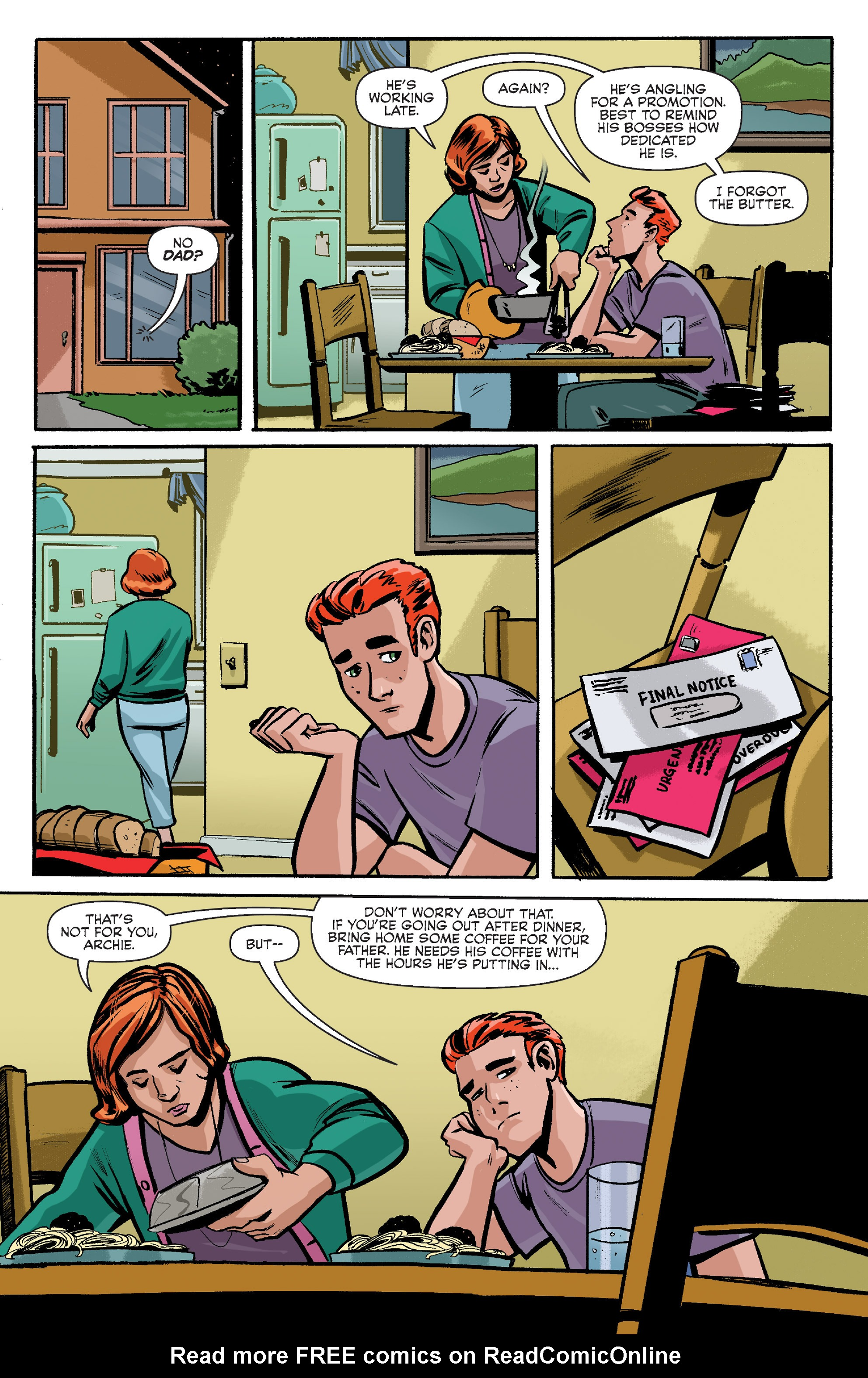 Read online Archie (2015) comic -  Issue #8 - 8
