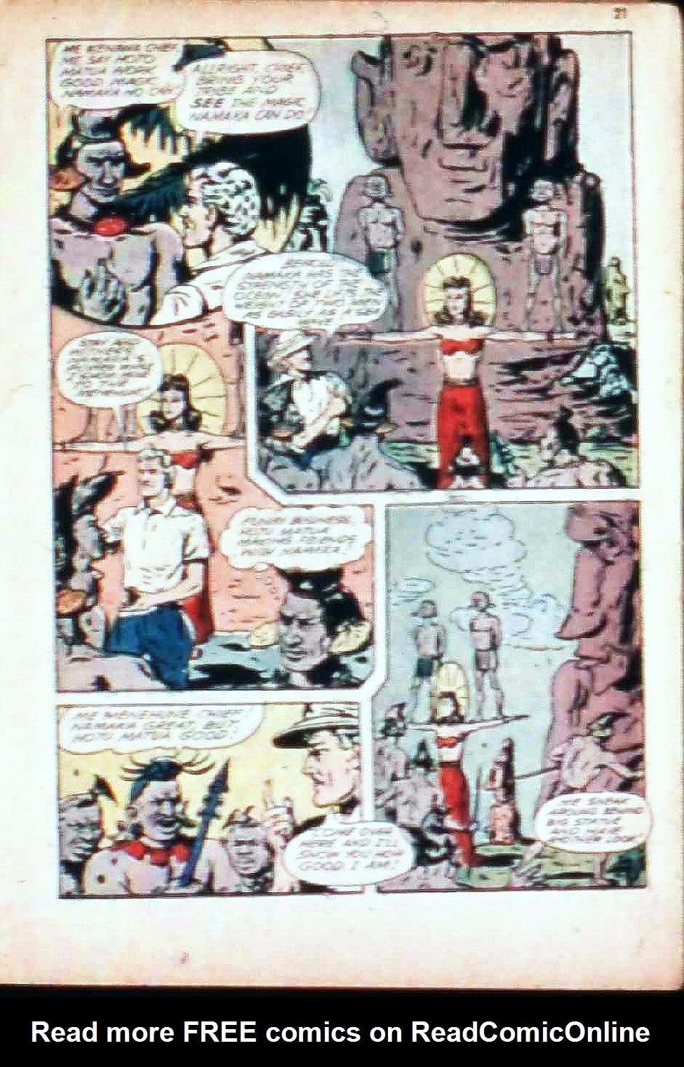 Read online Super-Magician Comics comic -  Issue #17 - 21