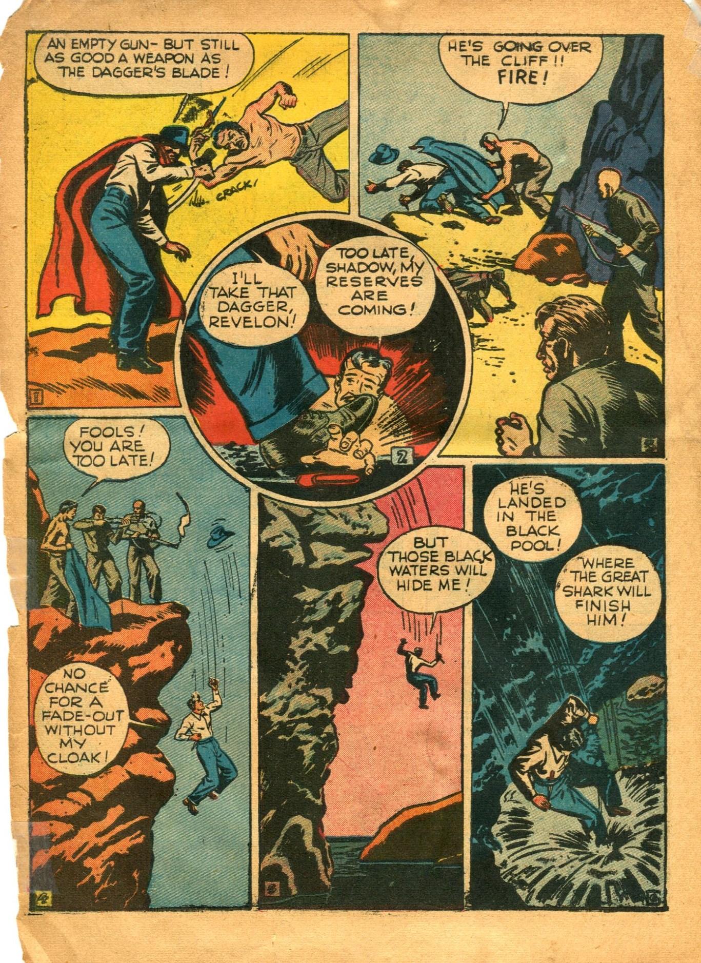 Read online Shadow Comics comic -  Issue #12 - 18